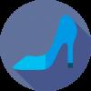 zapato y calzado de microfibra